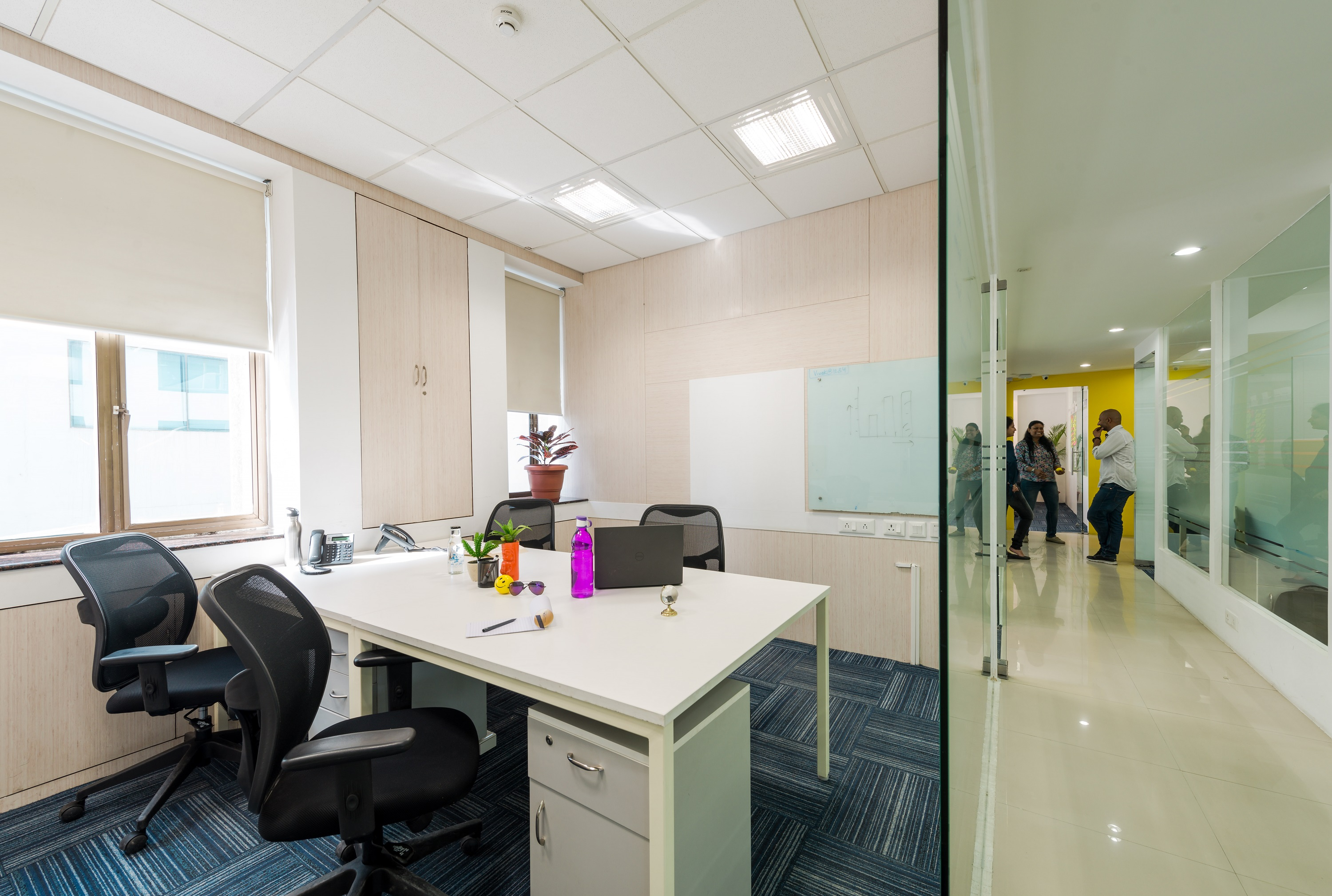 Shared office space for rent available at sector 44 near huda metro station gurgaon my desk hub - Shared office space for rent ...